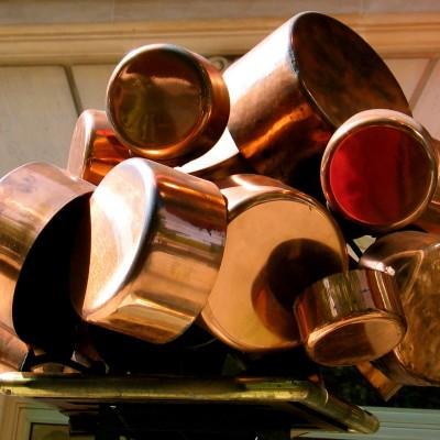 How to Shine Copper Pots with Lemon & Salt