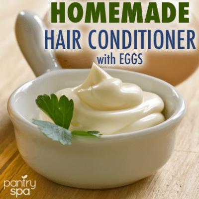 Egg Yolk Hair Conditioner Recipe