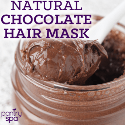 Chocolate Pudding Hair Mask