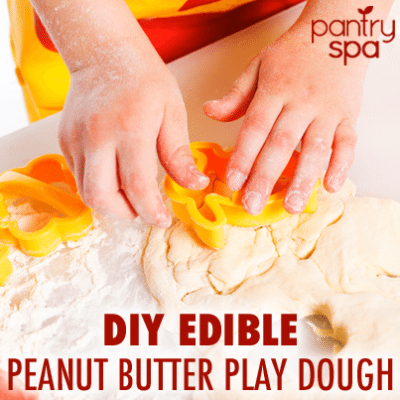 Honey & Peanut Butter Playdough: Make Your Own Playdough