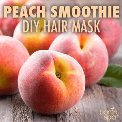 Peach Hair Mask Recipe
