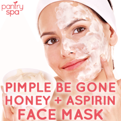 Honey Aspirin Face Mask