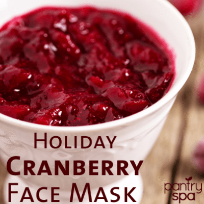 Cranberry Face Mask Remedy