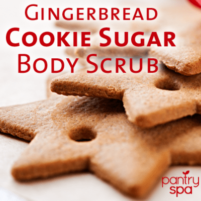 Gingerbread Cookie Body Scrub Recipe