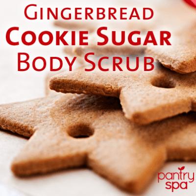 Gingerbread Cookie Body Scrub Recipe
