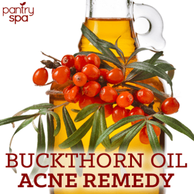 Dr Oz Sea Buckthorn Oil Acne Remedy