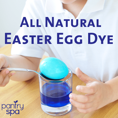 Violet & Blue Food Color Dye: Natural Easter Egg Dye - Pantry Spa