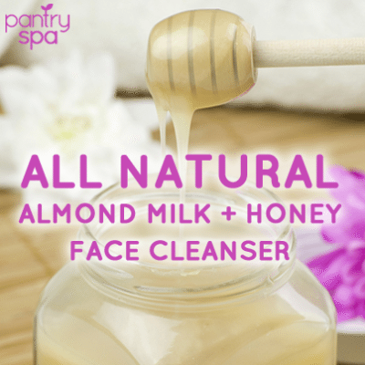 Almond Milk Face Cleanser Recipe