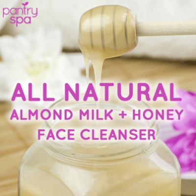Almond Milk Face Cleanser Recipe