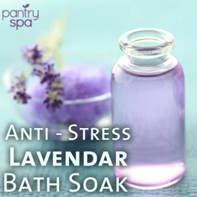 Lavender Bath Soak Recipe
