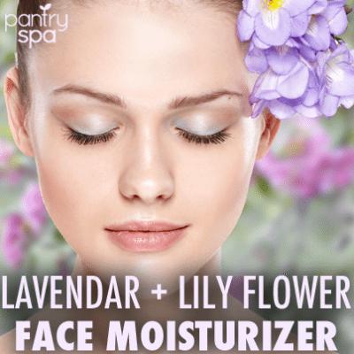 Lily Face Moisturizer Recipe