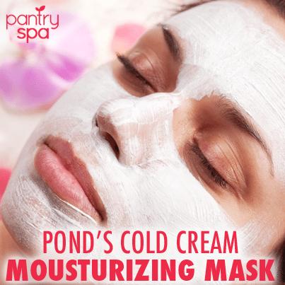 how to use ponds cold cream moisturizer