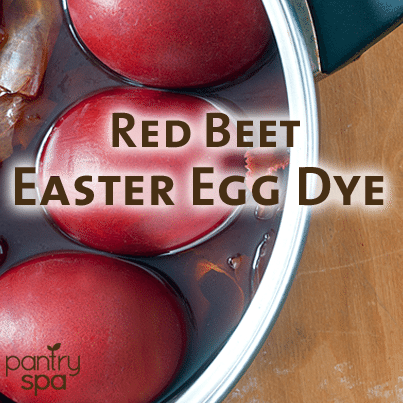 Red Food Color Dye: Natural Easter Egg Dye with Beets & Red Zinger ...