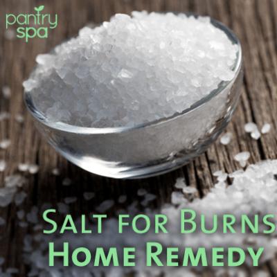 Bowl of Salt Burn Remedy