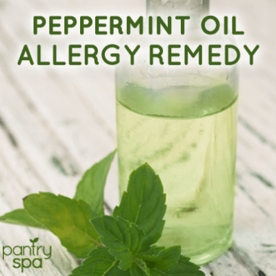 Dr Oz Peppermint Oil Allergy Remedy