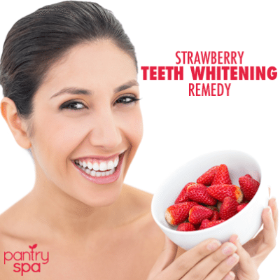 Dr Oz Strawberry Tooth Whitener
