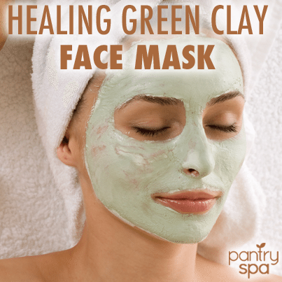 green clay for face