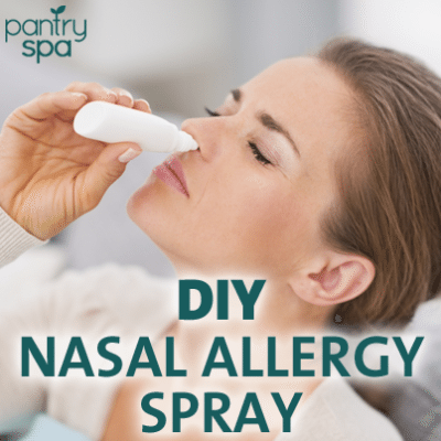 Natural Remedies for Pollen Allergies: DIY Goldenseal Nasal Spray