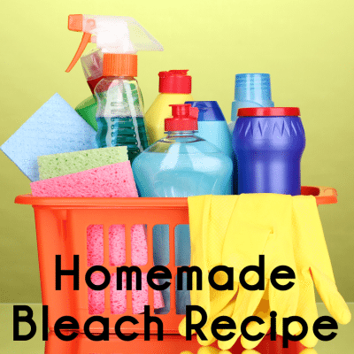 Homemade Bleach Laundry & Cleaning: Natural Recipe vs Chlorine Bleach
