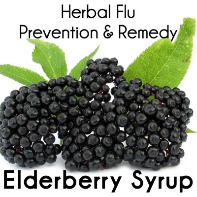 Natural Flu Shot Alternative: Elderberry Syrup Flu Remedy & Prevention