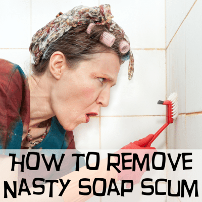 Homemade Shower Scum Remover Cleaner: DIY Natural Bath Remedies
