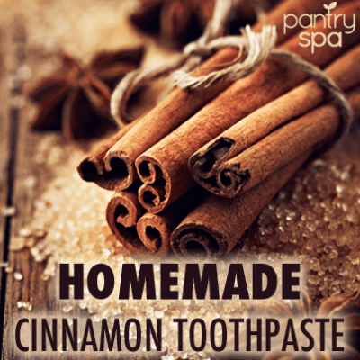 Homemade Coconut Oil, Nutmeg & Cinnamon Toothpaste Recipe