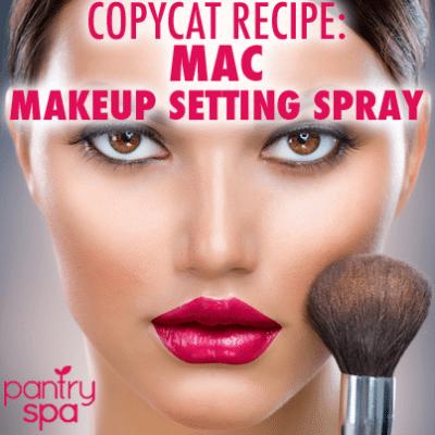 Homemade MAC Fix + Makeup Setting Spray DIY Recipe Under $5