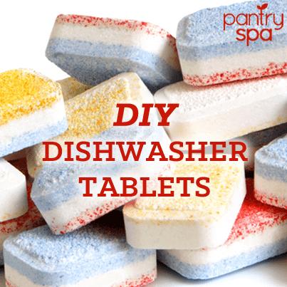 DIY Dishwasher Tablet Recipe (Finish Powerball Copycat