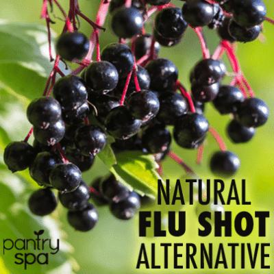Natural Flu Shot Alternative: Elderberry Syrup Flu Remedy & Prevention