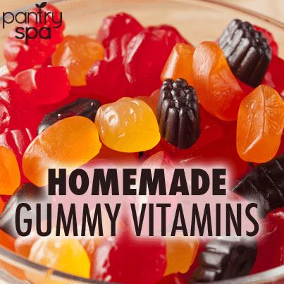 Homemade All Natural Gummy Vitamins - Homemade Ftempo