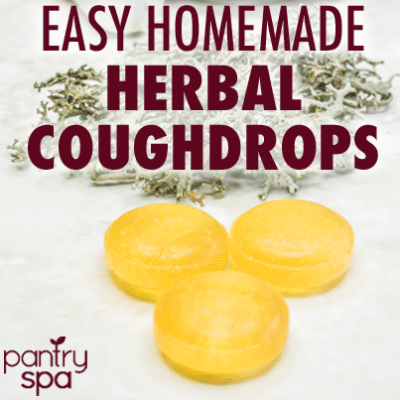 Homemade Cough Drop & Lozenges Recipe: Natural Throat Coat