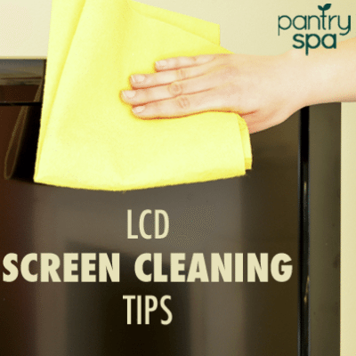 If you have a smudge in your LCD screen, there are a number of ways to clean it with microfiber cloths and for scratches you can use the Vaseline method.