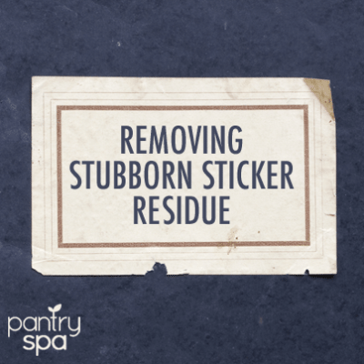 Remove Stickers with Blow Dryers, Vinegar, Lighter Fluid & Goo Gone