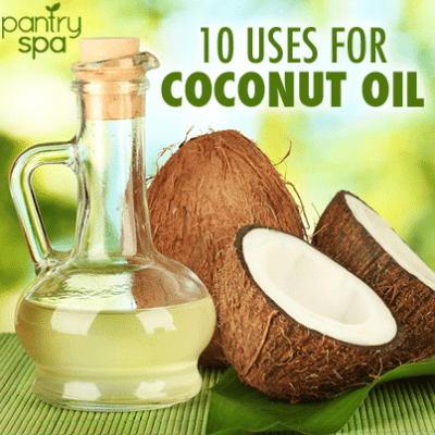 Coconut Oil Treats Athlete's Foot & Coconut Oil Deodorant Recipe
