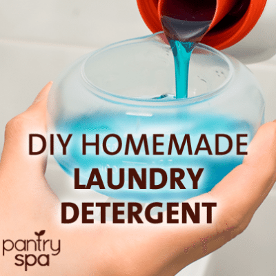 DIY Liquid Laundry Detergent Recipe: HUGE Money Saver!