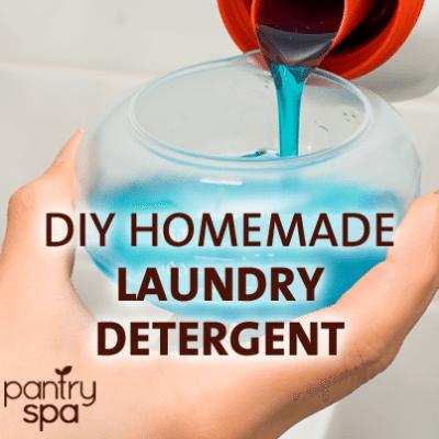 DIY Liquid Laundry Detergent Recipe: HUGE Money Saver!
