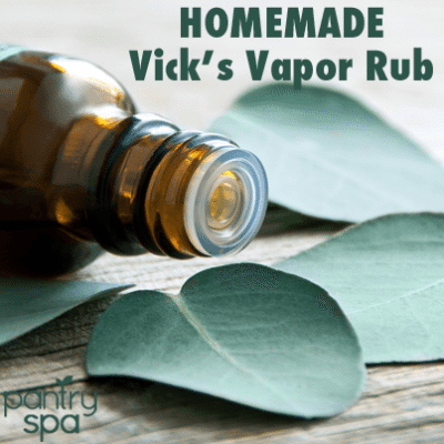 DIY Homemade Vicks Vapor Rub & Shower Disk Recipes