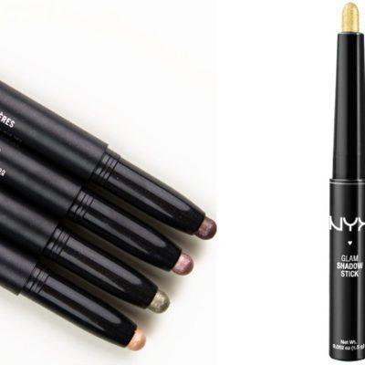 MAC Shadesticks vs NYX Eyeshadow