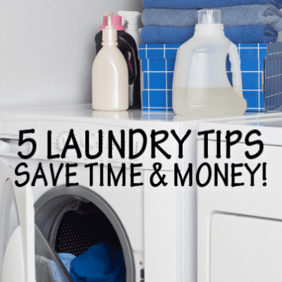 5 Smarter DIY Laundry Tips for Detergent, Bleach & Dryer Sheets