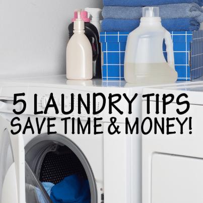 5 Smarter DIY Laundry Tips for Detergent, Bleach & Dryer Sheets