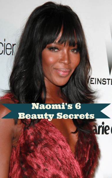 Naomi Campbell Model Behavior: Green Juice, Pilates & Moisturizer