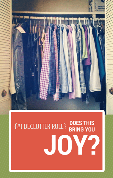 KonMari Method for Organization: Declutter Your Life with the Joy Test