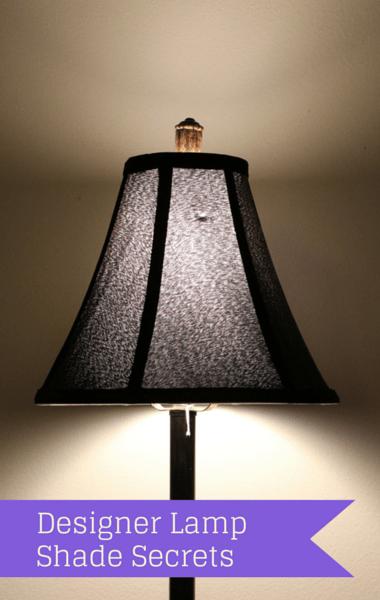 Designer Decorator Secrets: Decorative Lamp Shades & Custom Pillows